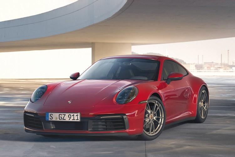 男女通吃!保时捷911 Carrera 4官图发布