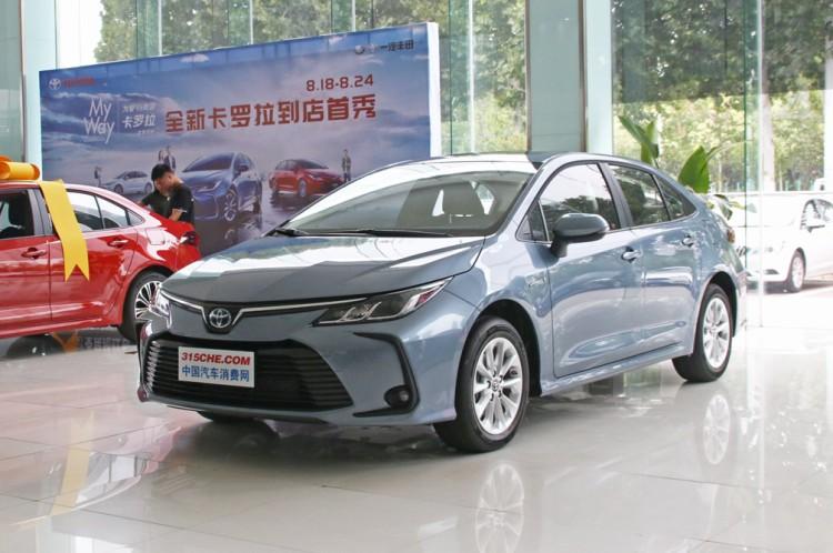 功能更丰富 新款丰田卡罗拉将7月上市