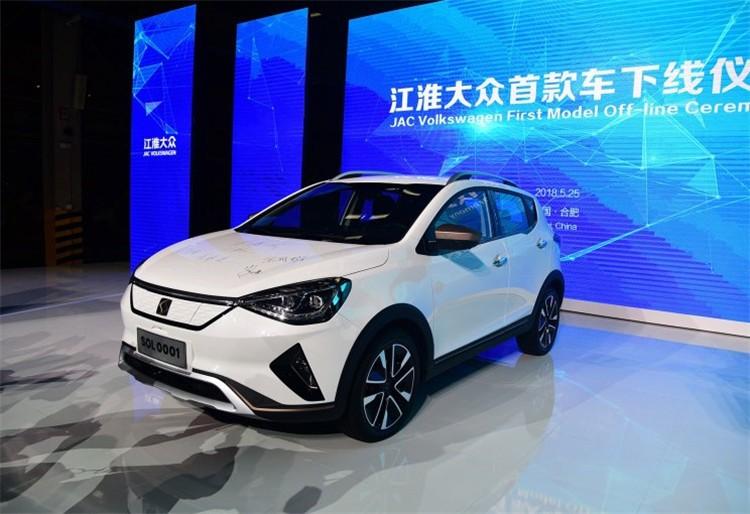 苦等一年,江淮大众首款纯电车型,思皓E20X将在9月28日上市
