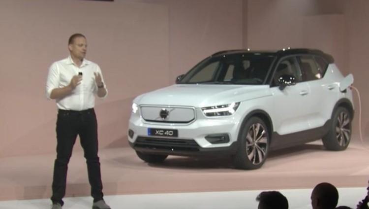 沃尔沃首款纯电SUV XC40亮相瑞典!续航超400km