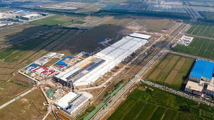 完成通电 特斯拉上海超级工厂开始调试