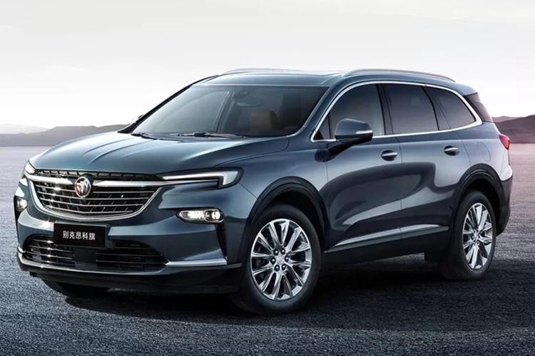 上汽通用别克将推出全新中大型SUV——昂科旗