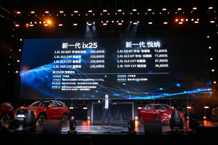 打造年轻人的第一台车,北京现代新一代ix25/悦纳售7.28万元起