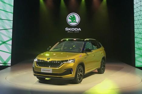 全新轿跑SUV&nbsp斯柯达柯米克GT全球首秀