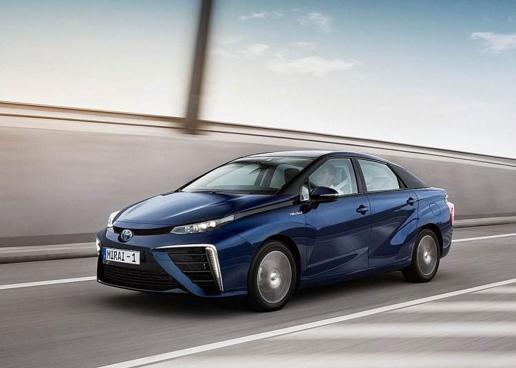 氢能源车来了!丰田Mirai年底引进