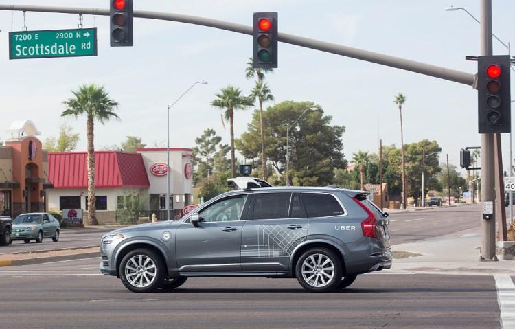 有设计缺陷 Uber无法探查乱穿马路行人