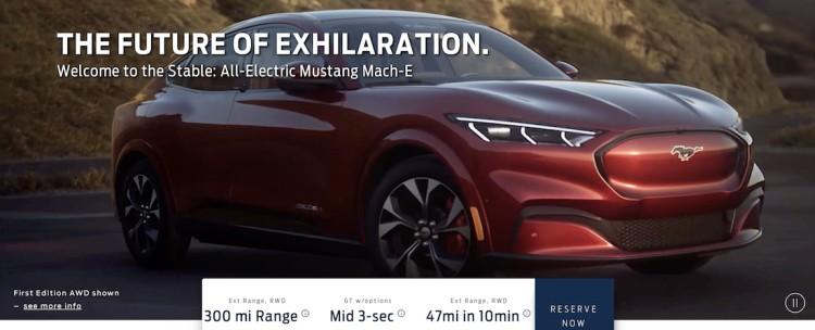 福特首款电动车提前泄露 30万的野马SUV?