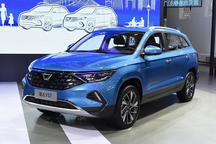 2019广州车展:捷达VS7正式发布