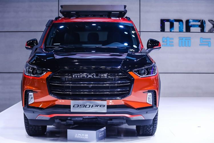 广州车展:上汽MAXUS D90 Pro柴油版发布