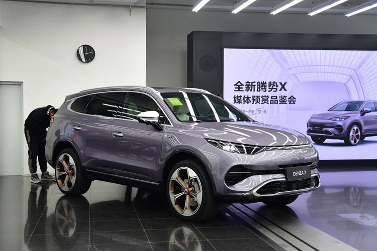 2019广州车展:腾势X售价28.98万起