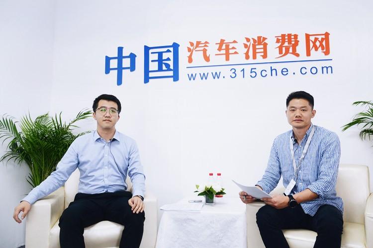 2019广州车展:上汽乘用车产品规划部轿车部经理曹恺祥
