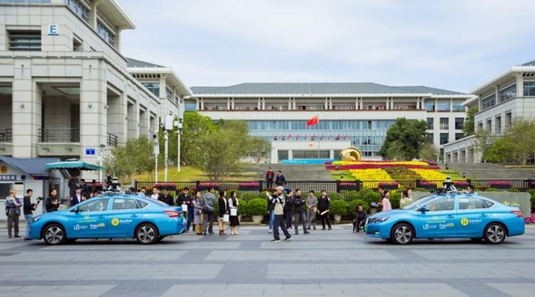 试运营开始 自动驾驶出租车队现身广州