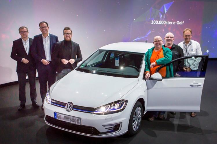 新能源里程碑 大众交付第10万辆e-Golf