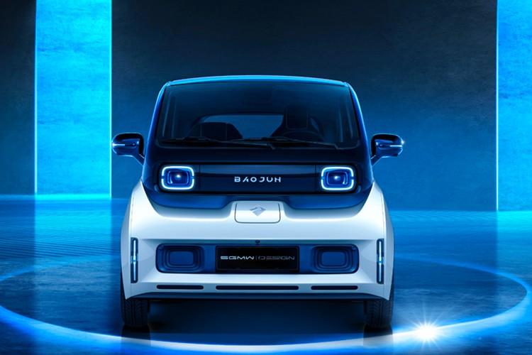 两门三座设计 宝骏全新电动车官图发布