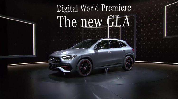 继续搭载1.3T机头 新一代奔驰GLA正式首发
