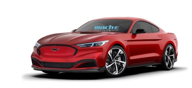 福特Mustang Mach-E Coupe假想图发布