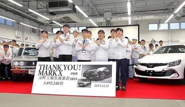 V6+后驱成绝响 丰田Mark X正式停产