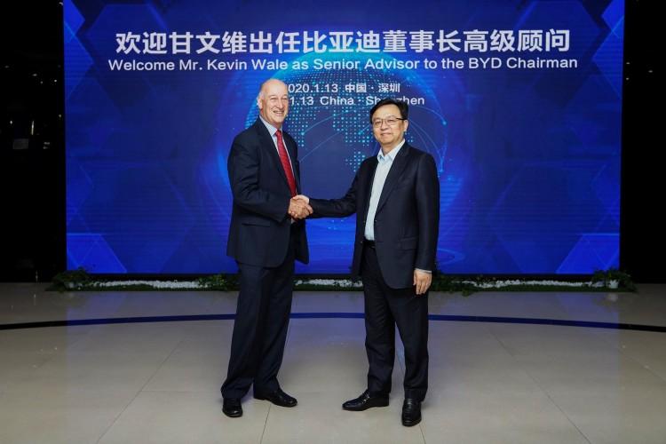前通用汽车中国CEO甘文维出任比亚迪董事长高级顾问