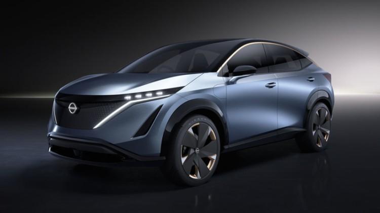 日产Ariya纯电动概念车加速将在5秒内 2021年正式上市