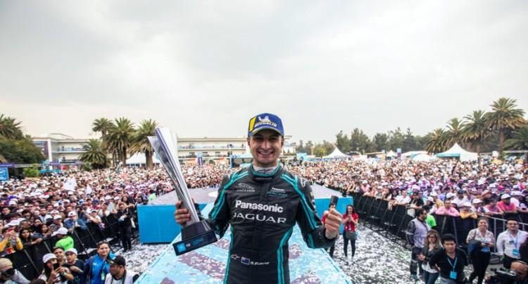 闪耀墨西哥城 Mitch Evans为捷豹Formula E车队勇夺分站赛冠军