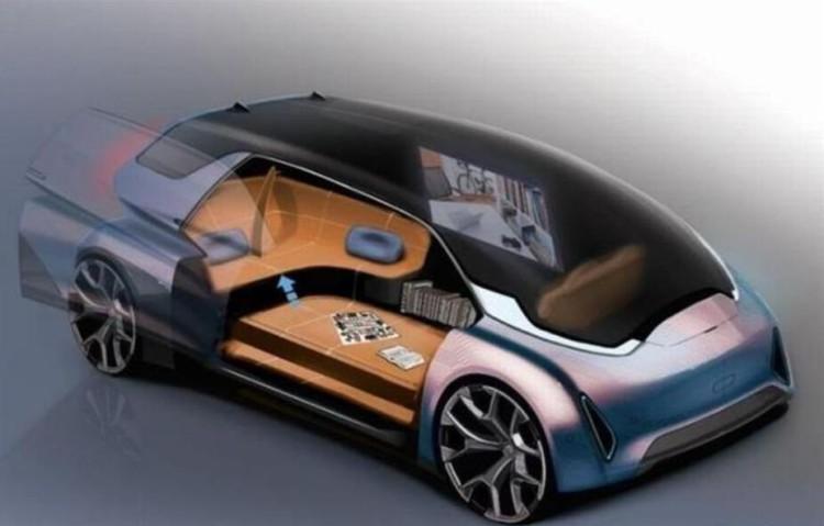 轻点手机 未来用户可随意更改车辆颜色