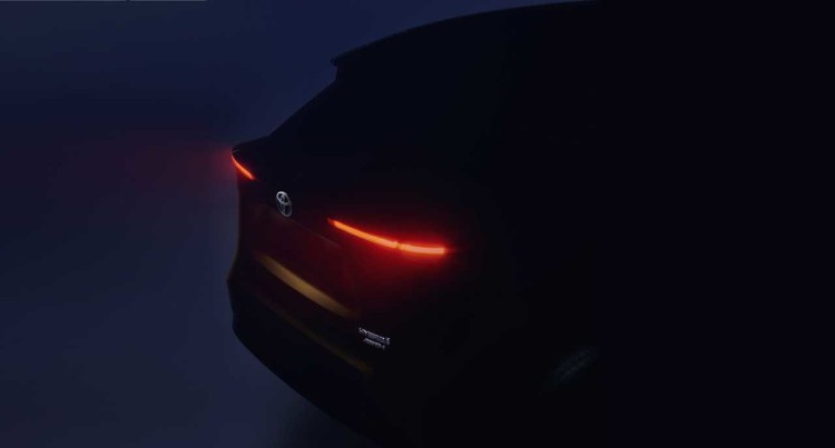 丰田发布全新SUV预告图 日内瓦车展首发
