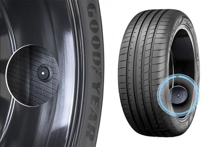 制动距离缩短30% 智能轮胎安全性提升