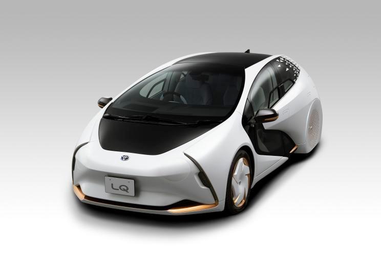 较传统材料轻30% 丰田LQ推创新汽车门板