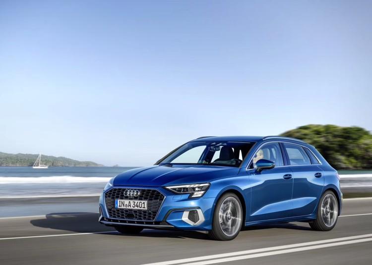 全新1.5T动力 全新一代奥迪A3正式发布