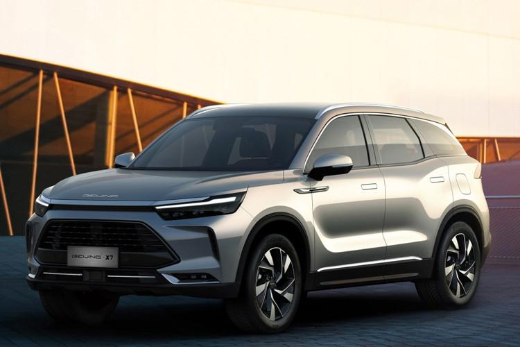 够大够前卫 北京BEIJING-X7将6月份上市