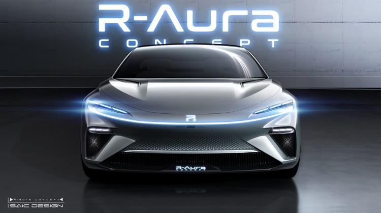 科技兑现想象,荣威R标首款旗舰概念车整车外观曝光!