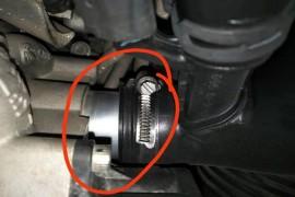 车的涡轮增压器管径有问题