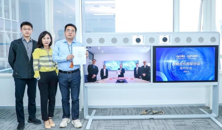 百度与深圳海梁科技达成战略合作 Apollo智能交通生态推动智能公交落地