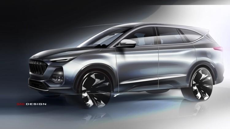命名嘉悦X8 江淮全新SUV设计图发布