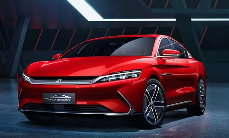 """给国人""""长脸""""了 比亚迪汉EV欧洲预售价达到4.5万欧"""
