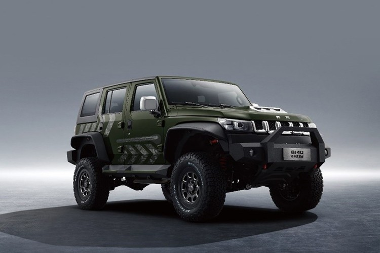 越野装备齐全 北京BJ40雨林穿越版售26.99万元