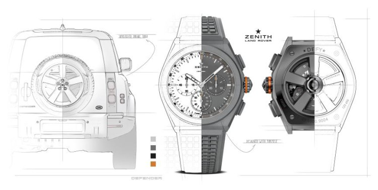 致敬经典 全新路虎卫士携手真力时推出特别版腕表