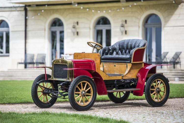 L&K Voiturette A:斯柯达生产的第一款汽车