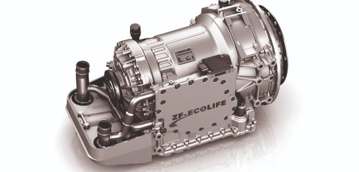 采埃孚研发新款EcoLife变速箱 可将车辆燃油效率提升16%