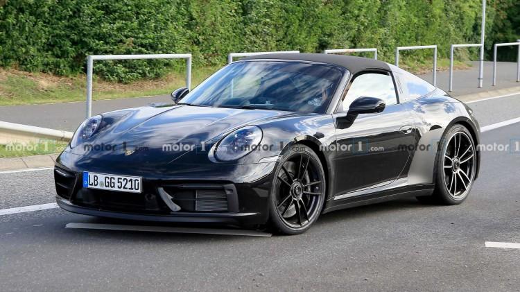 超过450马力!保时捷911 Targa GTS谍照曝光