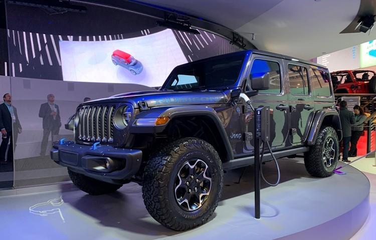缓解双积分压力 Jeep牧马人PHEV将9月4日国内发布