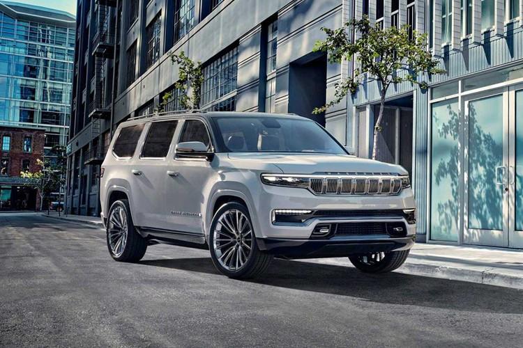 将配V8插混系统 Jeep新旗舰SUV首发亮相