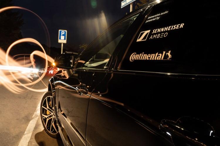 大陆/森海塞尔推出下一代车载音频方案
