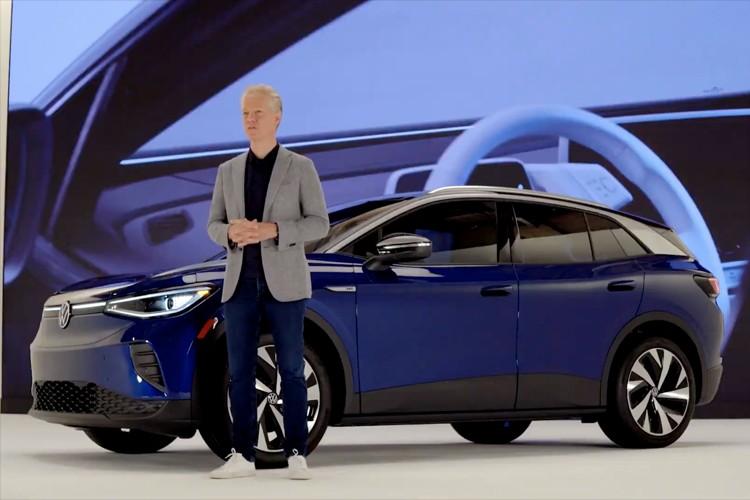 首款后驱纯电动SUV 大众ID.4正式首发