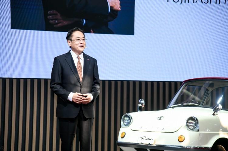 百年路 越己魂 马自达经典车型及100周年特别纪念款车型亮相北京国际车展