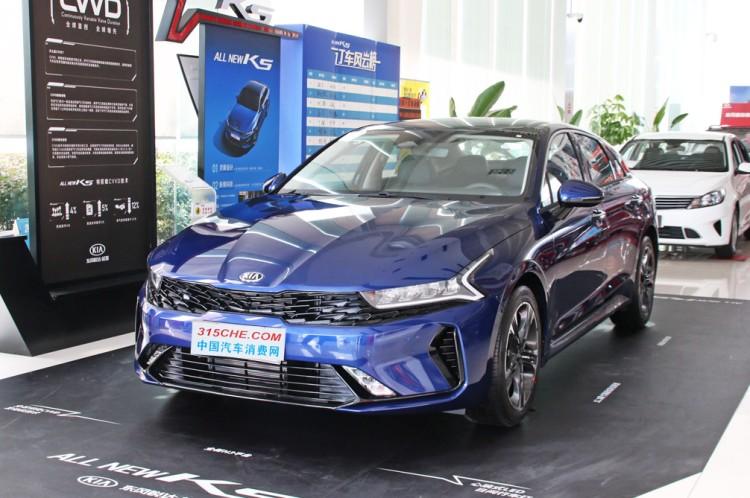 科技感更强 起亚K5凯酷新车型售17.78万起