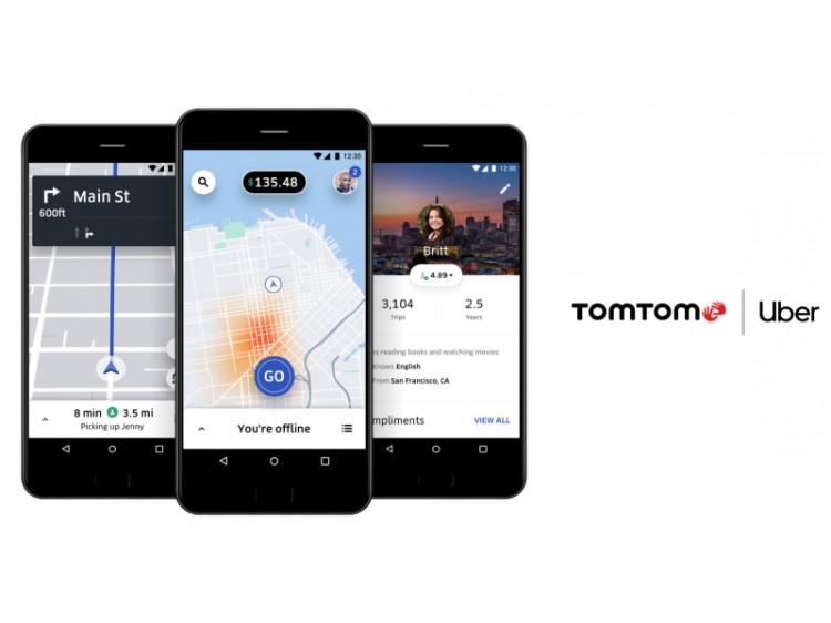 提供更精确导航 Uber与TomTom达成合作