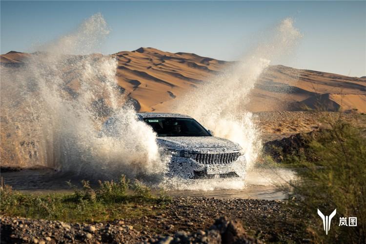 岚图汽车中大型智能电动SUV完成高温高原测试 全球招募测试同行者