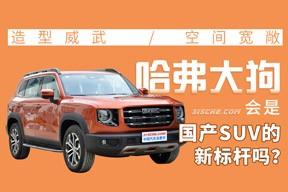 造型威武/空間寬敞 哈弗大狗會是國產SUV的新標桿嗎?