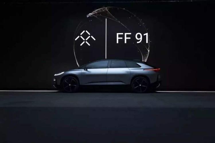 配备业内最大抬头显示器 FF 91或将量产